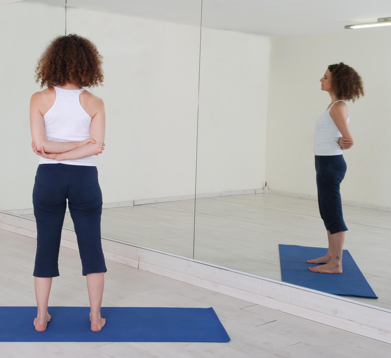 תנוחות ותרגילי יוגה:Yoga postures asana asanas Tadasana Paschima Baddha Namaskar