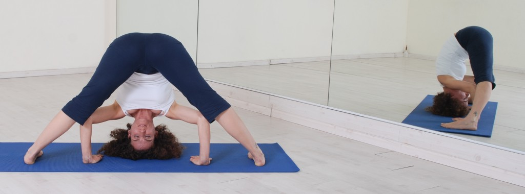 תנוחות ותרגילי יוגה: prasarita padottanasana yoga asanas asana postures