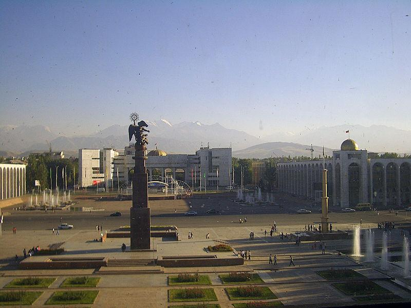 kirgizstan-Bishkek-Ala-Too-Square
